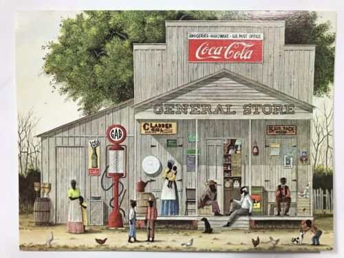 Coca-Cola General Store Southern Tradition  Painting Jack Meyers Greeting Card.