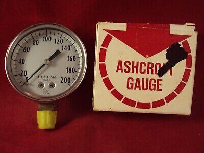 Ashcroft Gauge 1009kgs 14 L.c. Face 2 12 In 200