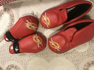 Red Sparring gear