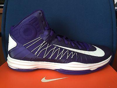 best website 2ba72 89330 DS Nike Hyperdunk 2012 Men s sz 18 Basketball Shoes 524882-500 White Purple  kobe