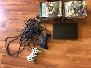 Ps2 w/ games and 2 controllers