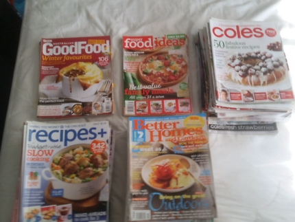 Assorted cooking and recipes magazines and books other books recipe magazines forumfinder Choice Image
