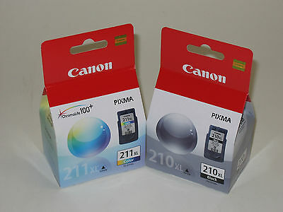 Canon Pg-210 Xl Cl-211 Xl Ink 210 211 Mp240 Mp480 Mx330 M...