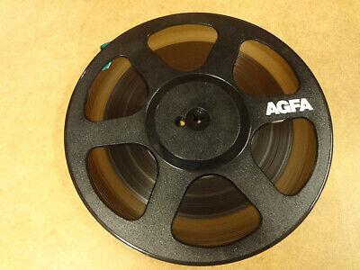 """10"""" (26,50 CM) REEL TAPE AGFA IN ORIGINAL BOX"""