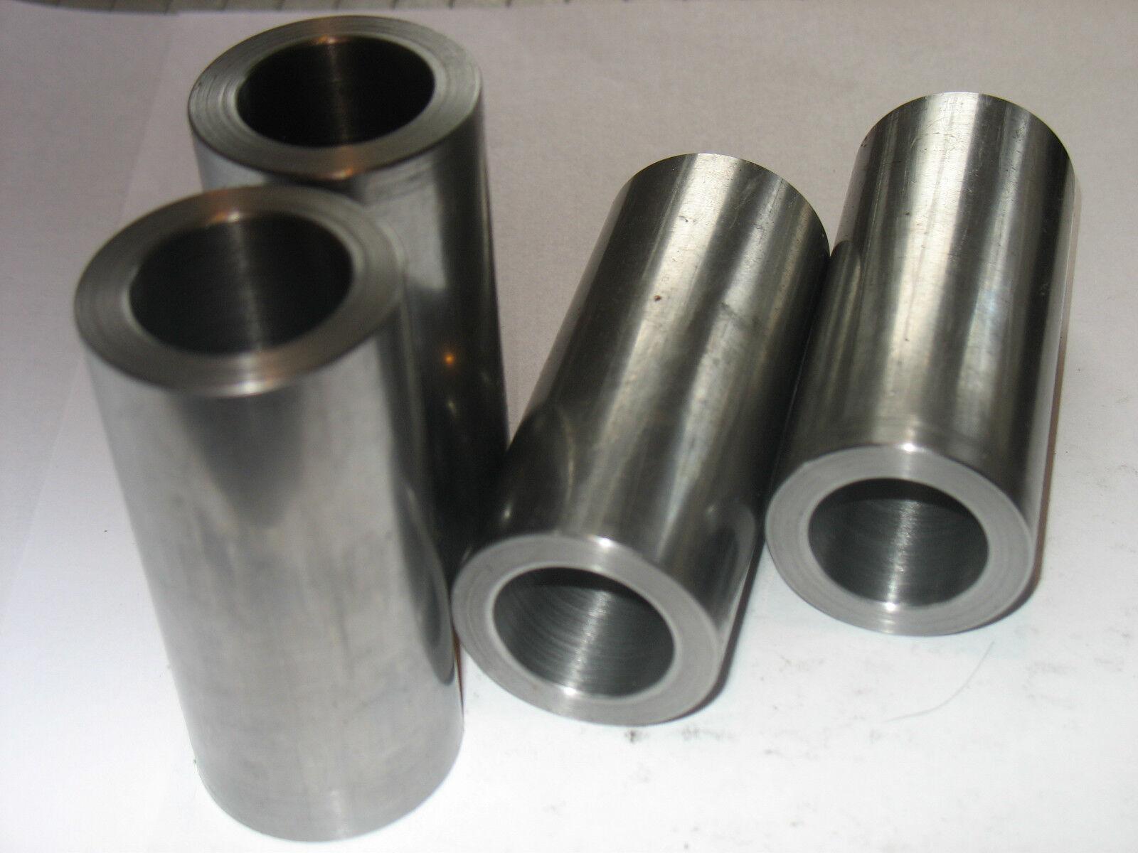 "Steel Bushing Sleeve 5//8/"" OD x 1//2/"" ID x 5/"" Long 2 Pcs  CDS DOM"