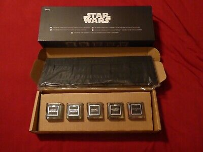 STAR WARS THE EMPIRE STRIKES BACK SCENTED CANDLES COLLECTOR'S EDITION / SET OF 5