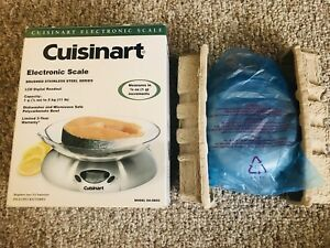 〈Cuisinart〉Electronic Kitchen Scale