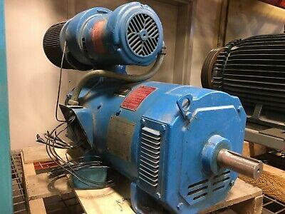 20 Hp Dc Motor With Tachometer Generator
