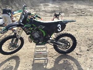 2001 factory kx250 dirtbike