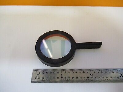 Zeiss Germany Heat Absorbing Lens Filter Microscope Part As Pictured W2-b-59