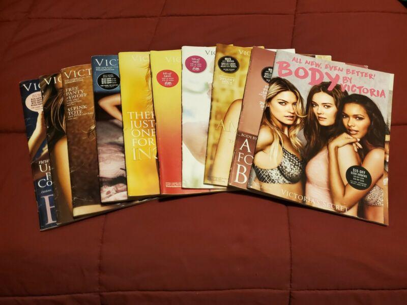 Lot Of 10 Victoria Secret Catalogs 2009-2015