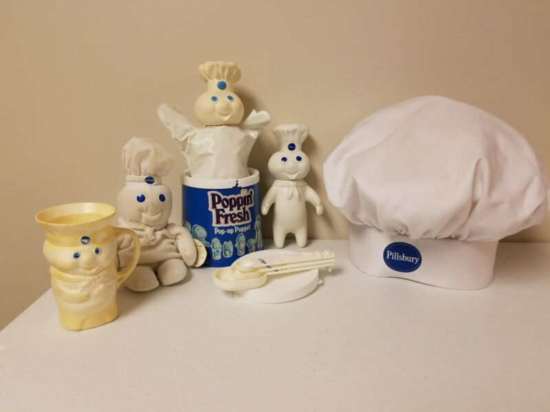 Pillsbury Doughboy Collectible Items LOT Of 6
