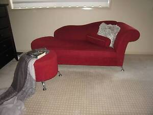 chaise with foot stool Ellis Lane Camden Area Preview