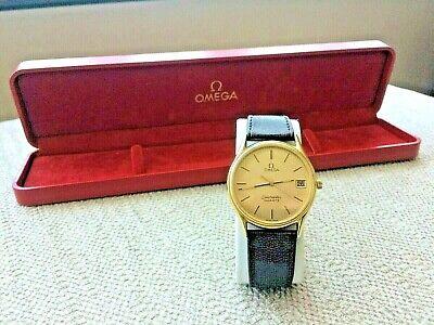 Omega Seamaster quartz vtg men's wristwatch