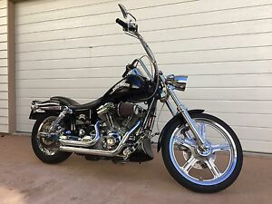 Cvo Dyna Wide Glide Harley Davidson Mount Coolum Maroochydore Area Preview