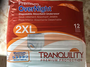 Premium OverNight Disposable Absorbent Underwear
