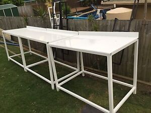 Quality workshop garage bench workbench table Collingwood Park Ipswich City Preview