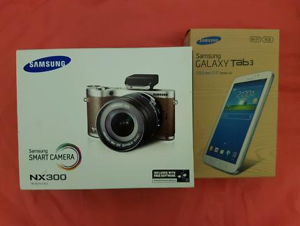 Samsung Smart camera nx300 and Samsung Galaxy Tab 3