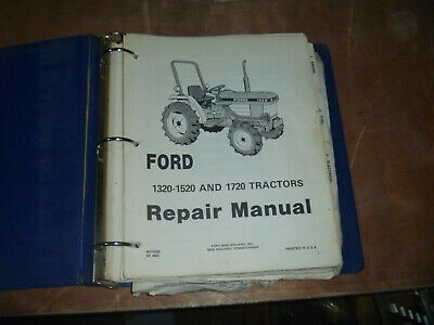 Ford New Holland 1320-1520 1720 Tractors Shop Service Repair Manual