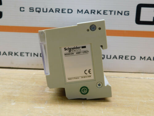 Schneider Electric Abe7-cpa21 Analog Module Csq