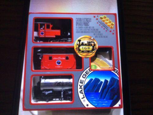LGB THE BIG TRAIN Starter Train Set 25401 New,