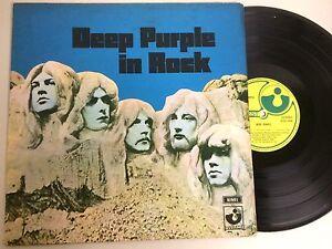 """a4 vinyl 12"""" Brazil edition DEEP PURPLE IN ROCK fold out cover - Italia - a4 vinyl 12"""" Brazil edition DEEP PURPLE IN ROCK fold out cover - Italia"""