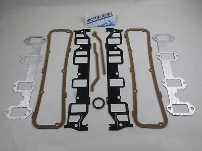 Intake Exhaust Manifold, Valve Cover Gaskets Ford FE 352 361 390 406 410 427 428