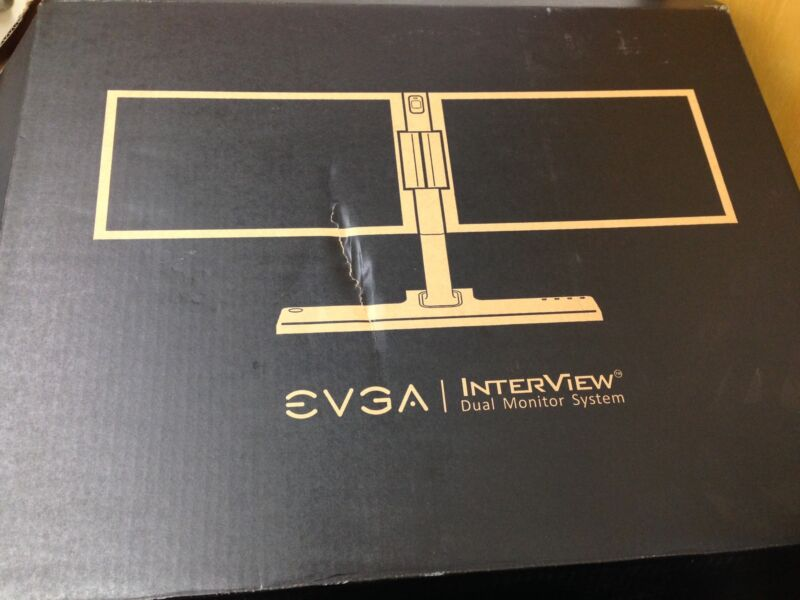 EVGA InterView Dual 1700 LCD Monitor 200-LM-1700-KR