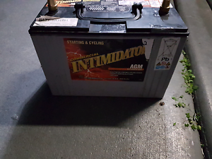 DEEP CYCLE 100 A/H AGM BATTERY Coolum Beach Noosa Area Preview