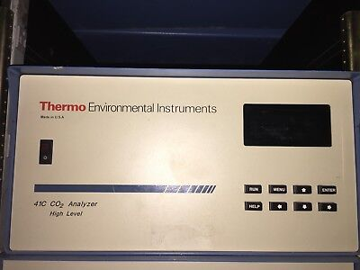 Thermo Environmental Instruments Inc. Model 41 Co2 Analyzer