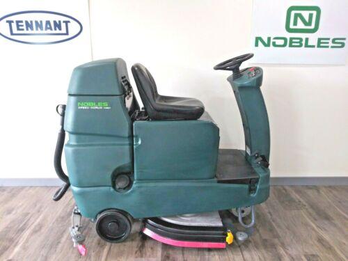 "Tennant/Nobles Speed Scrub Rider 32"" Floor Scrubber New 235 AH Batteries"