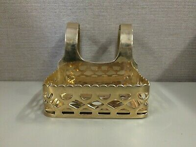 Antique Vintage Brass Finished Bathtub/Bathroom Soap Dish Holder/Rack