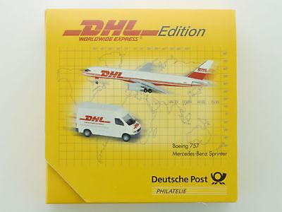 Schuco 006728 MB Sprinter Boeing 757 World Wide Express DHL OVP SG 1605-28-07