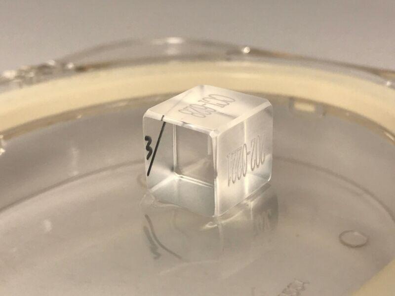 KD*P Laser Crystal SHG Nd:YAG 1064nm - 532nm 13.5x13.5x14.5 mm Cleveland
