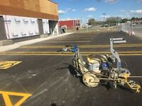 PARKING LOT PAINTING AND SWEEPING
