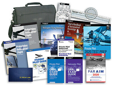 Aviation Supplies & Academics ASA Private Pilot Helicopter Student Kit