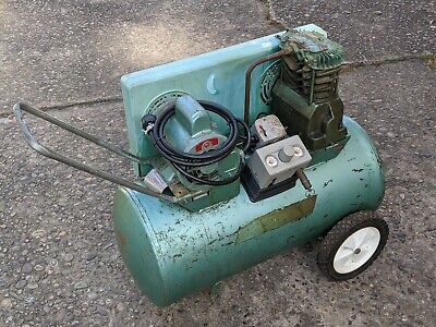 Speedaire Air Compressor Pump W 2hp 115230v Motor - Rolling Vintage