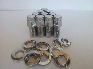 20-x-WELD-MAG-WHEEL-NUTS-WASHERS-1-32-LONG-SHANK-1-2-UNF-STUD-SUIT-FORD