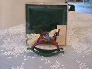 Hallmark Rocking Horse Ornament