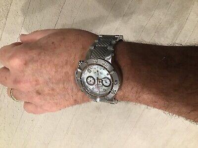 Invicta Subaqua NOMA III 42mm Swiss Movement Z60 Chronograph MOP Dial Bracelet