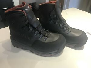 Simms freestone wading boots rubber soles for sale