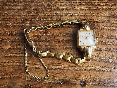 Ladies Rolex Precision 18K 1947 Dress Cocktail Watch Model: 4211
