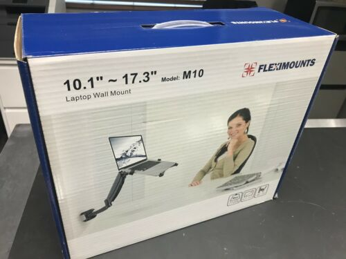 Fleximounts M10 Wall Mount arm for Laptop or Monitor