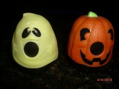 (Set of 2) Halloween Skittles Dispensers 3.25