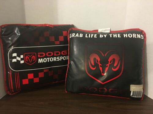 Dodge Motorsport / Grab Life By The Horns Matching Pillows