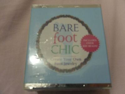 BARE FOOT CHIC FOOT JEWELRY WITH OVER 400 BEADS