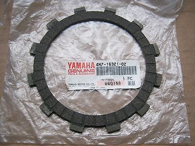 Yamaha Clutch Friction Plate FZR XJ FZ6 FZS6 XV YZF  4H7-16321-02 NOS