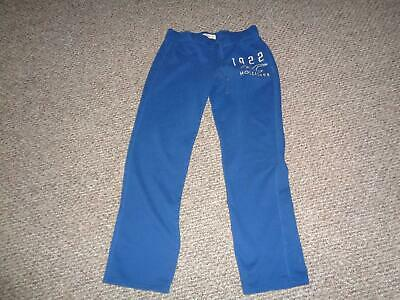 Hollister Womens' Blue Cotton Blend Athletic Pants Sz M