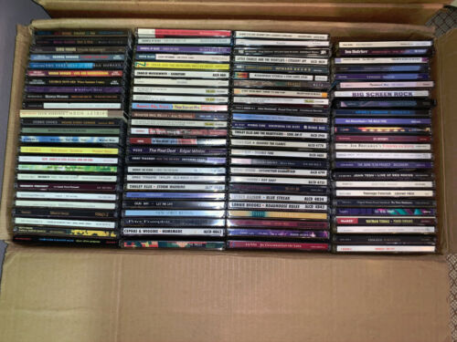 Lot of 100 CDs, Various Artists & Genres