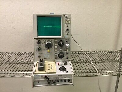 Tektronix 577 D1 Storage 1600v 20a Curve Tracer 177 Standard Test Fixture As Is